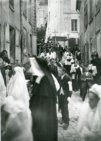 La vie d'antan des Saint-Prissiens
