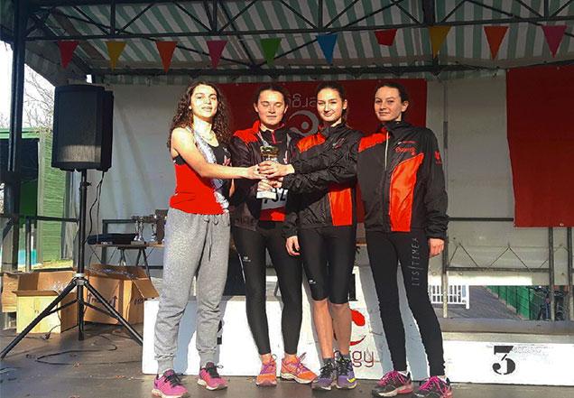 Des Saint-Prissiennes championnes de cross