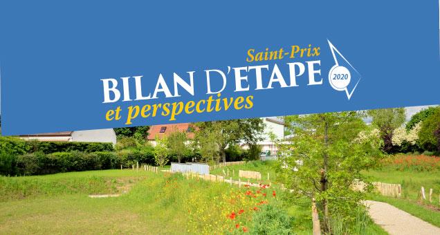 Bilan d'étape de la Municipalité - Saint-Prix