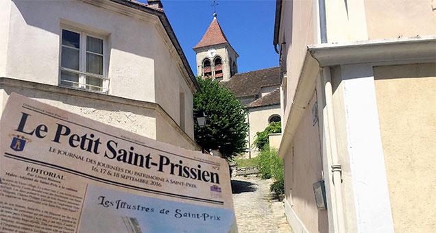 Visite du patrimoine de Saint-Prix
