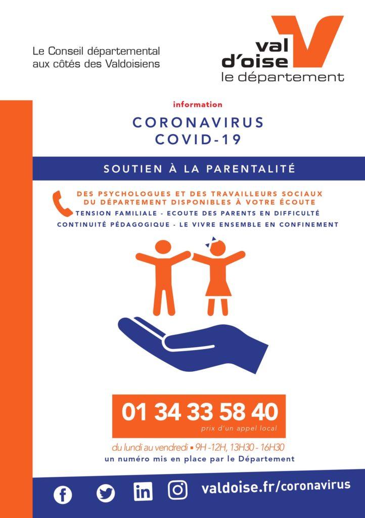 Flyer parentalité Saint-Prix