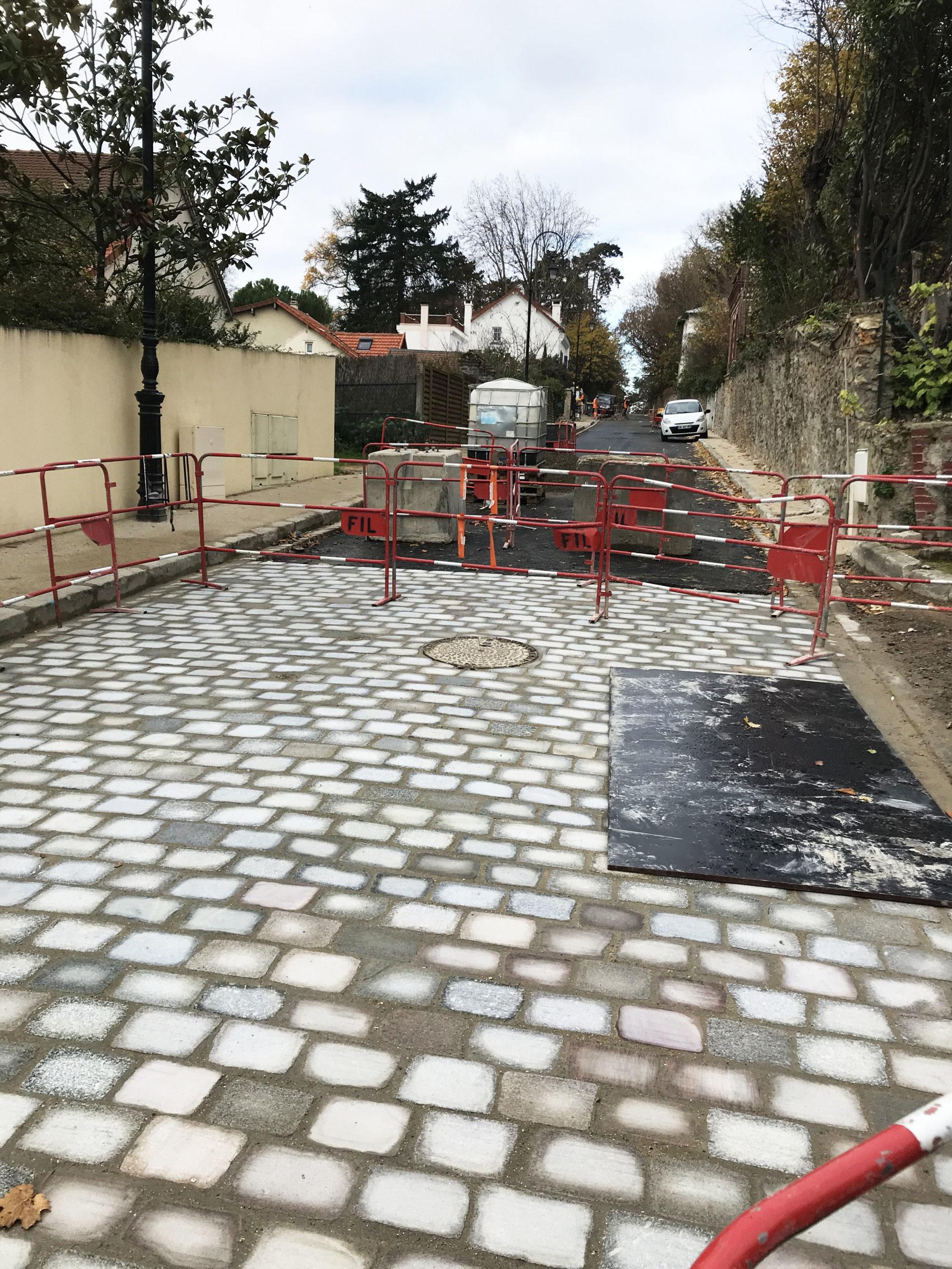 Infos Travaux rue Montlignon