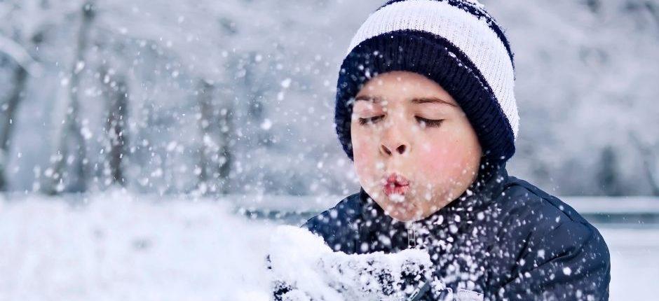 enfant neige